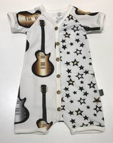 Sommardräkt Guitars and Stars Silver & Old Gold, 62