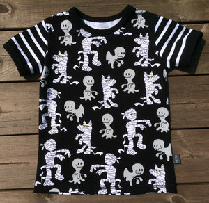 T-shirt Mumier & Spöken, stl 92