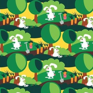Kaniner i morotslandet