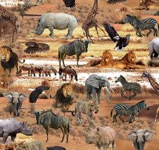 Safari brun - Ekologisk GOTS