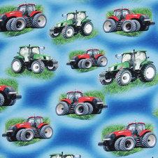 Traktorer blå