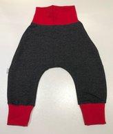 Trikå-jeans svart, 74/80