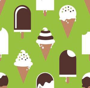 Stora glassar grön/brun