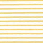 Vit/gul randig jersey - EKOLOGISK