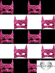 Batstripes Pink glitterillusion - Ekologiskt