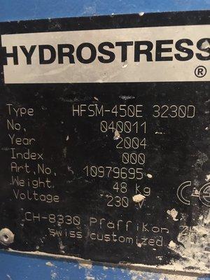 Golvsåg Hydrostress