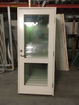 Innerdörr 9x21 Glas