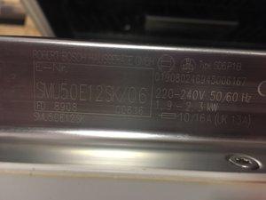 Diskmaskin Bosch