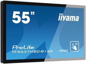 iiyama ProLite TF5537MSC (54.6''), Projected Capacitive, 12 TP, Full HD