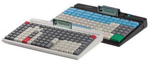 PrehKeyTec MCI 128, alpha, Chip, USB, white