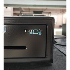 Triton POS CD410, 5sedel+8mynt, 24v, svart