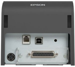 Epson TM-T70II, USB, RS232, dark grey