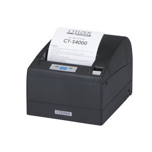 Citizen CT-S4000/L, USB, LPT, 8 dots/mm (203 dpi), cutter, black