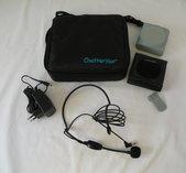 ChatterVox Amplio - m/headsetmikrofon (svart)