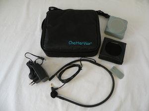ChatterVox AMPLIO - komplet med halsmikrofon