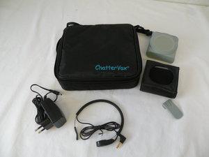 ChatterVox AMPLIO -  komplet med strubemikrofon