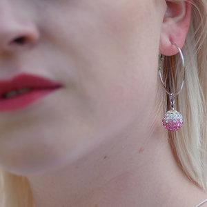 DISCO - Rosa  /örhängen