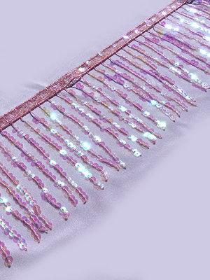 PALJETTFRANS - iridescent 15 cm