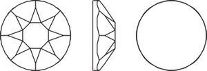 SS20 Crystal AB (001 AB) HF