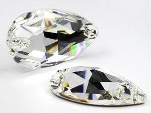 3230 DROPPE 18x10,5 mm Crystal (001)