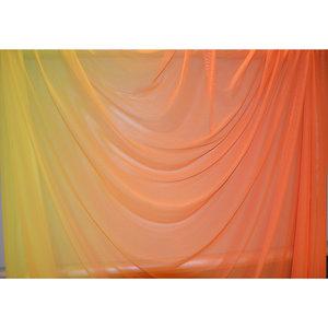 FADED MESH - orange/gul