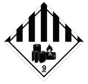 Luokka 9A - Varoituslipukkeet - 25 kpl