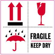 Fragile+3 merkkiä