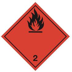 Klasse 2.1 - Skilt - 25 stk