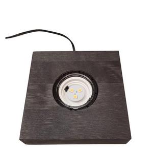 Light Base in Wood Black SW13 LED