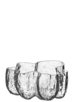 Crackle Bowl Small Clear - Kosta Boda
