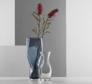 Squeeze Vase Small Clear  - Orrefors