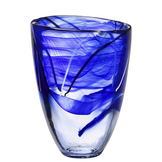 Contrast Vase Blue