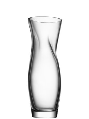 Squeeze Vase Large Clear