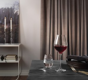Zephyr Champagne Coupe Glass - Orrefors