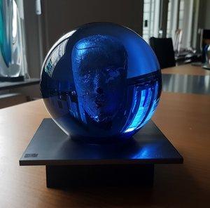 Headman Blue - Kosta Boda