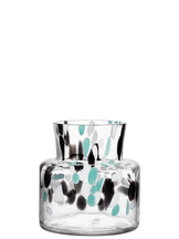 Fir Vase Green / Black Small