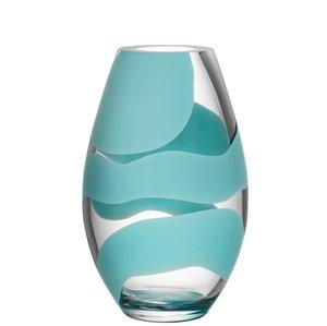 Non Stop Vase Turquoise - Kosta Boda
