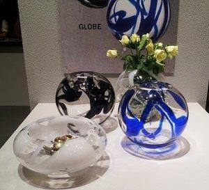 Globe Plate White