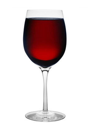 Merlot Red Wine Glass - Orrefors