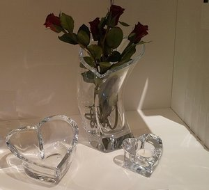 Valentino Vase Heart - Orrefors