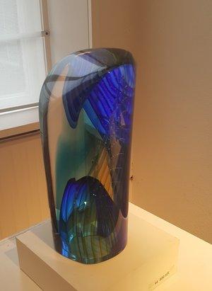 Sculpture Blue Green - Kosta Boda