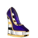 Make Up Shoe Amethyst Stripe