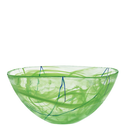 Contrast Bowl Lime Large