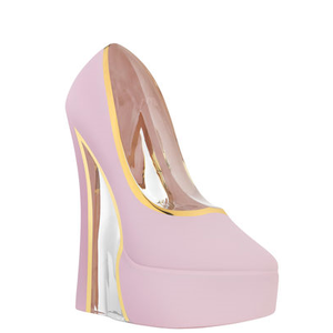 Make Up Shoe Pearl Pink - Kosta Boda