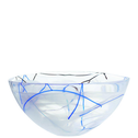 Contrast Bowl White Large