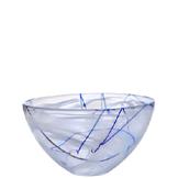 Contrast Bowl White Medium