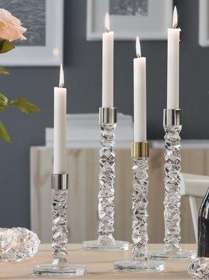Carat Candlestick Brass 2-pack