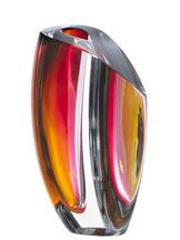 Mirage Vase Gray/Red Big