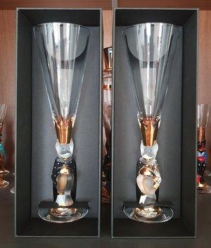 Nobel Djävulsglas Champagne Klarglas