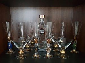 Nobel Djävulsglas Champagneglas Grön - Orrefors